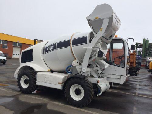FIORI DB X35.  Опережая собственную премьеру на выставке, первый бетоносмеситель новой серии запущен в эксплуатацию в России.